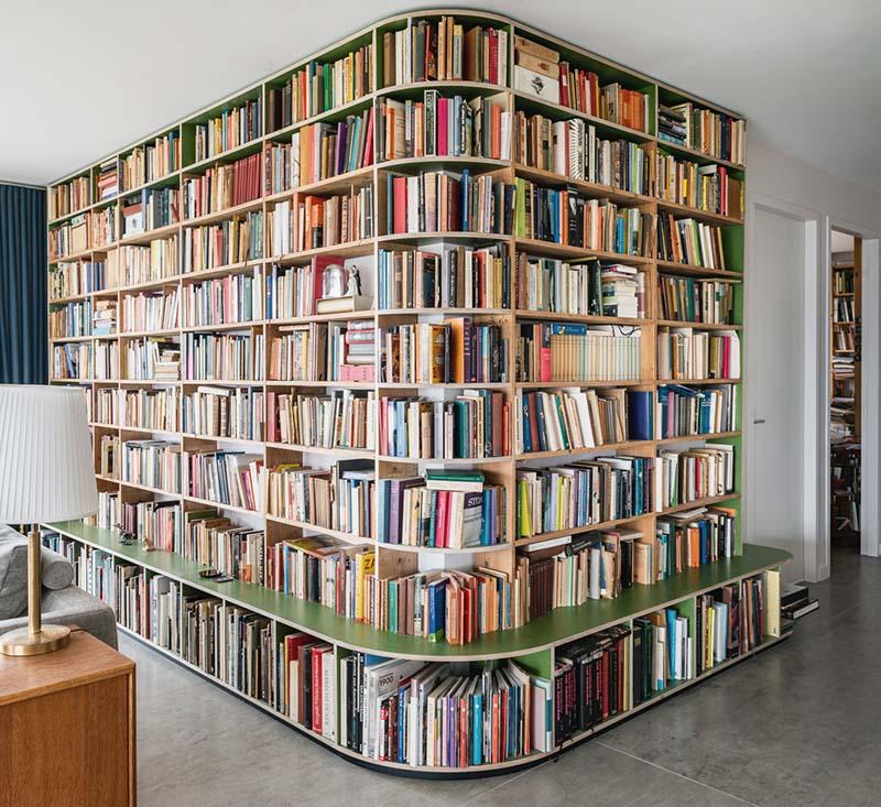 Bij een verhuizing een boekenkast op maat laten maken
